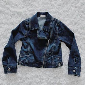 🌿Last Chance!🌿 Girls Crazy 8 Denim Jacket Sz S